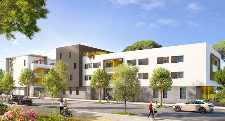 Photo du Résidence « L'Agora » programme immobilier neuf en Loi Pinel à Saint-Jean-de-Védas