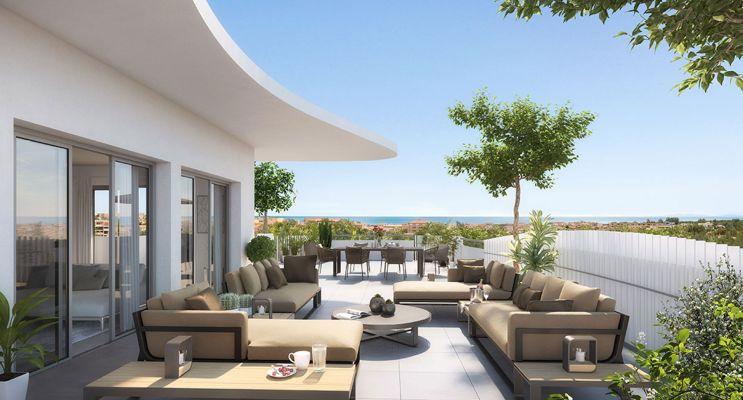 Sérignan programme immobilier neuf « Le Parc des Cyclades  - TR 1 » en Loi Pinel