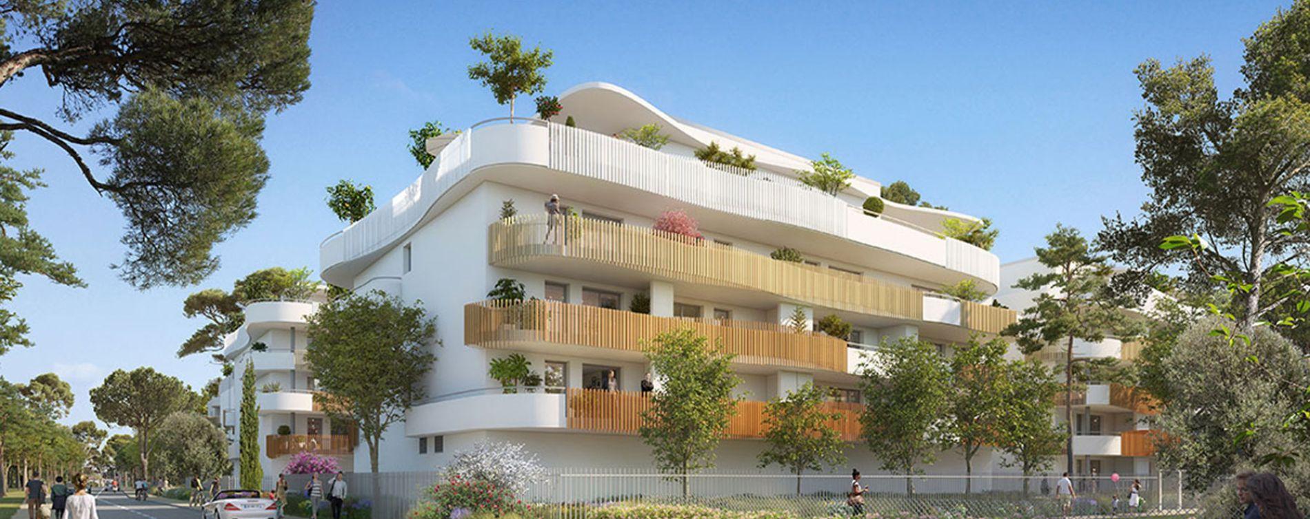 Sérignan : programme immobilier neuve « Le Parc des Cyclades - Tr 2 » en Loi Pinel