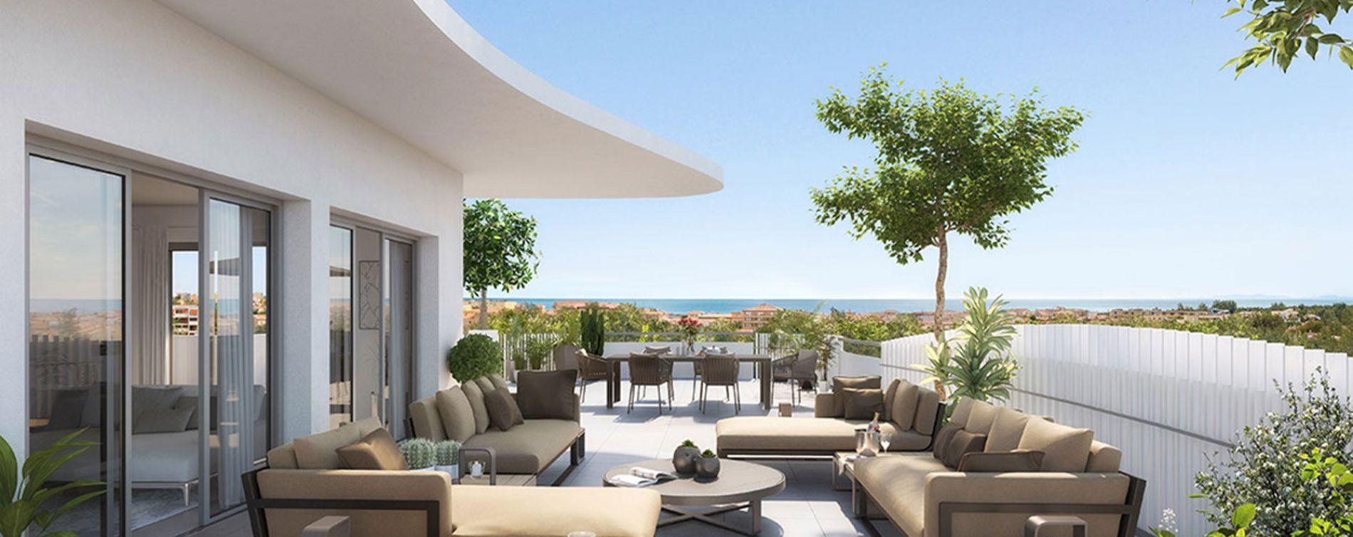 Sérignan : programme immobilier neuve « Le Parc des Cyclades - Tr 2 » en Loi Pinel (2)
