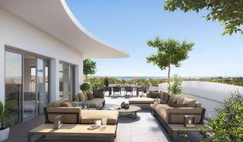 Sérignan programme immobilier neuve « Le Parc des Cyclades - Tr 2 » en Loi Pinel  (2)