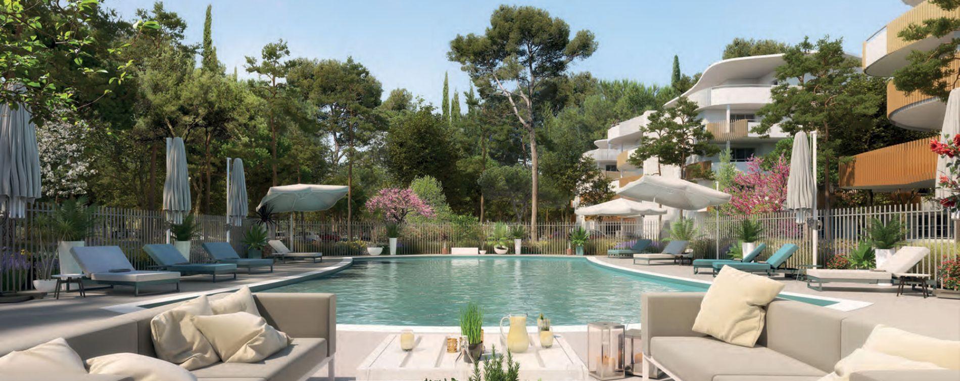 Sérignan : programme immobilier neuve « Le Parc des Cyclades - Tr 3 » en Loi Pinel