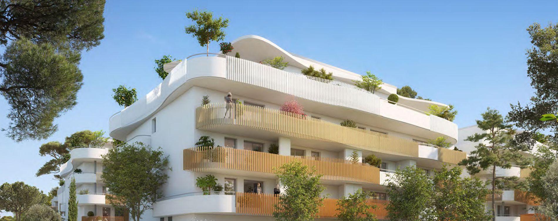 Sérignan : programme immobilier neuve « Le Parc des Cyclades - Tr 3 » en Loi Pinel (2)
