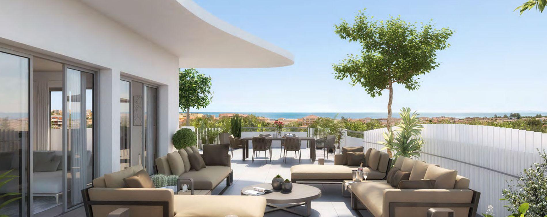 Sérignan : programme immobilier neuve « Le Parc des Cyclades - Tr 3 » en Loi Pinel (3)