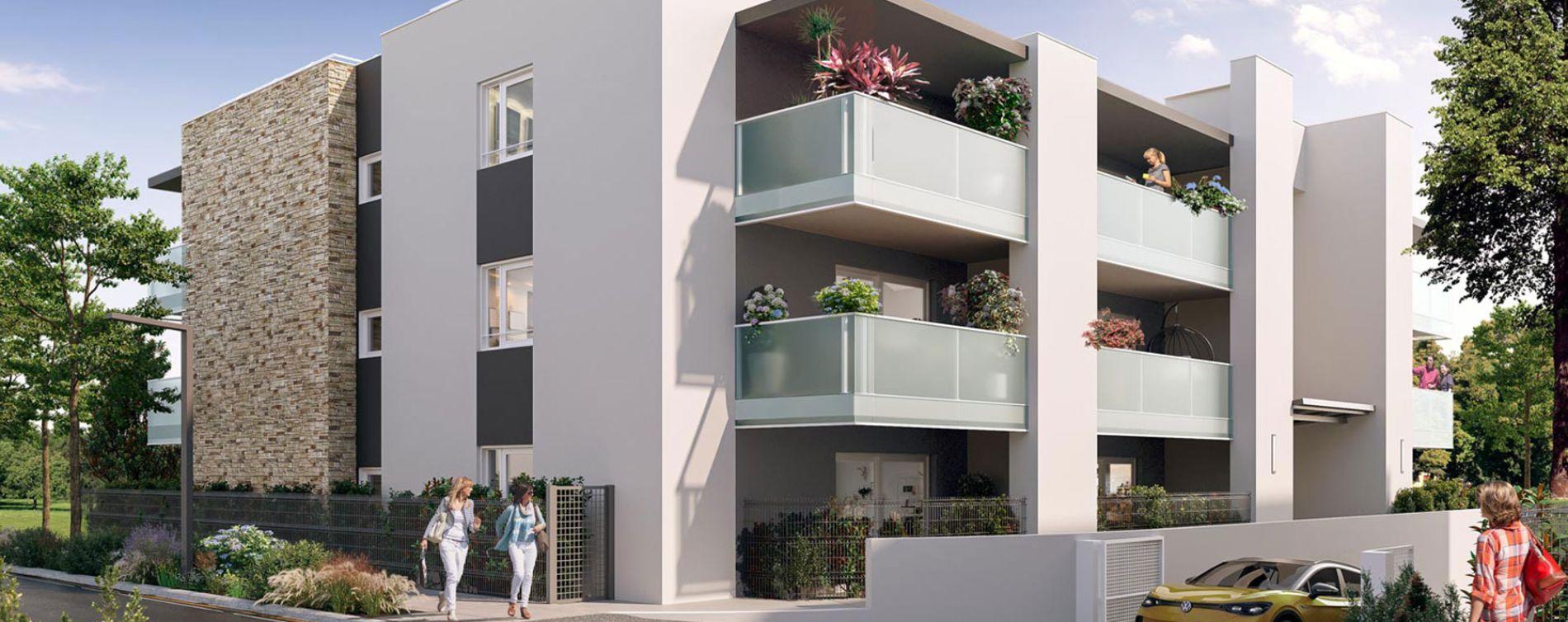 Sérignan : programme immobilier neuve « Ode Marine » en Loi Pinel