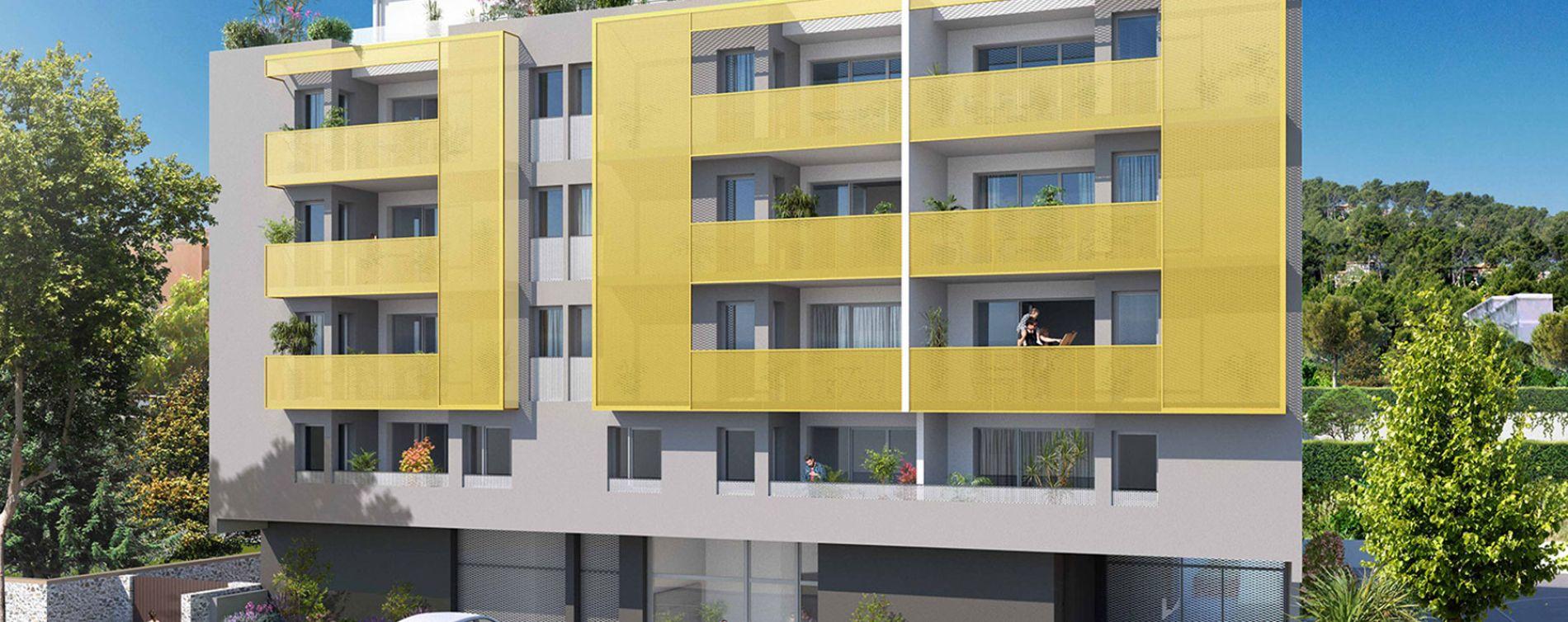 Sète : programme immobilier neuve « Villa Marquise »