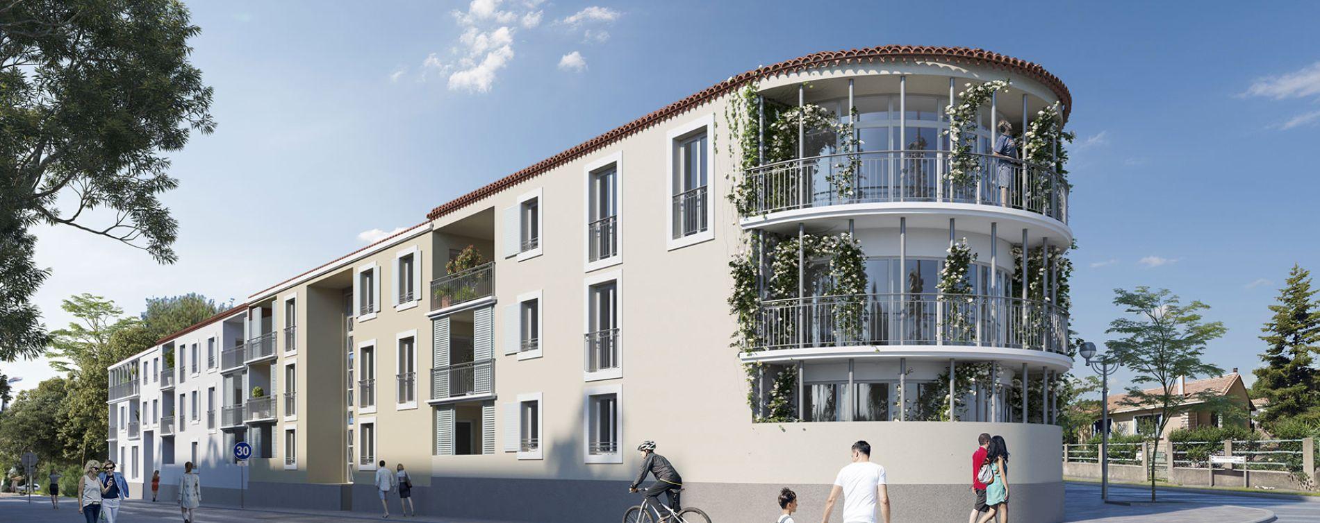 Vendargues : programme immobilier neuve « Rosae » en Loi Pinel