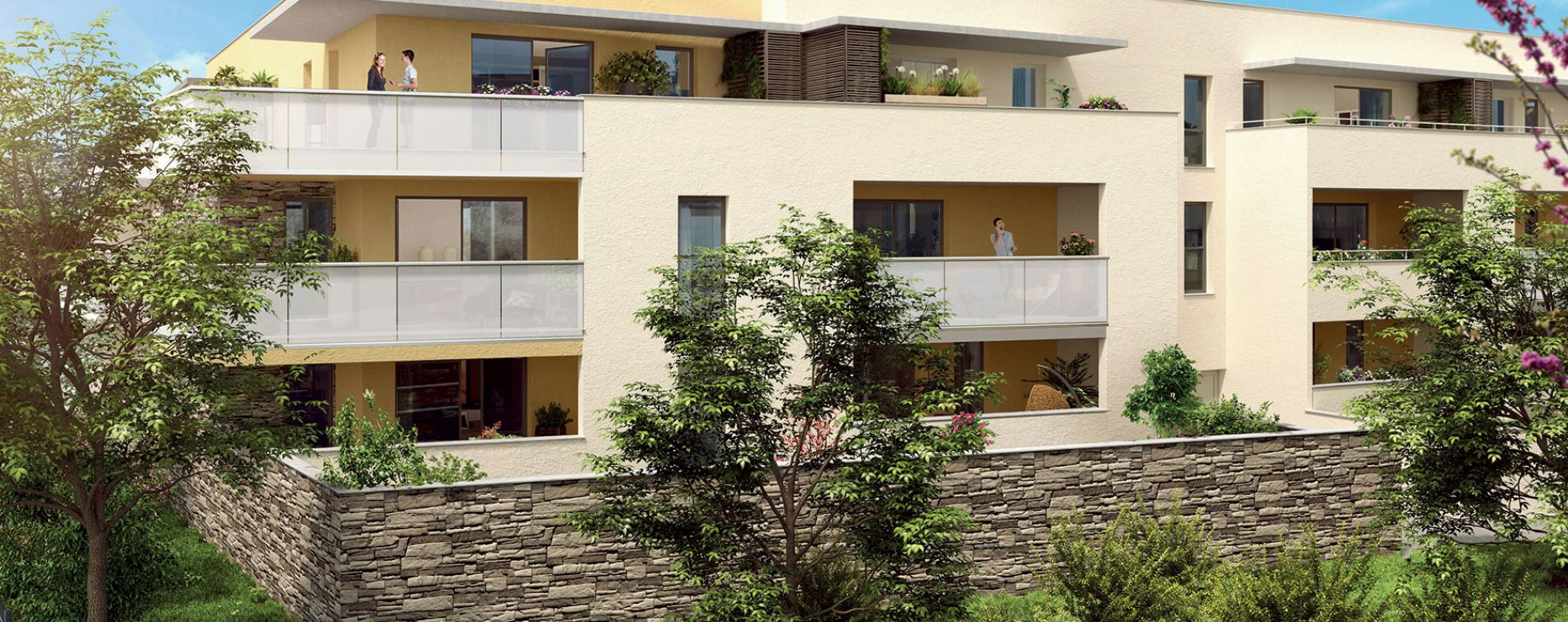 Villeneuve-lès-Maguelone : programme immobilier neuve « Marysol » (2)