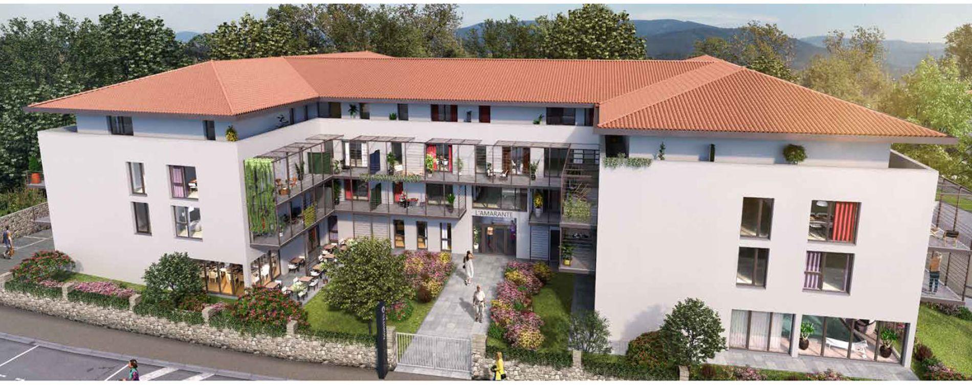Cahors : programme immobilier neuve « L'Amarante » (2)