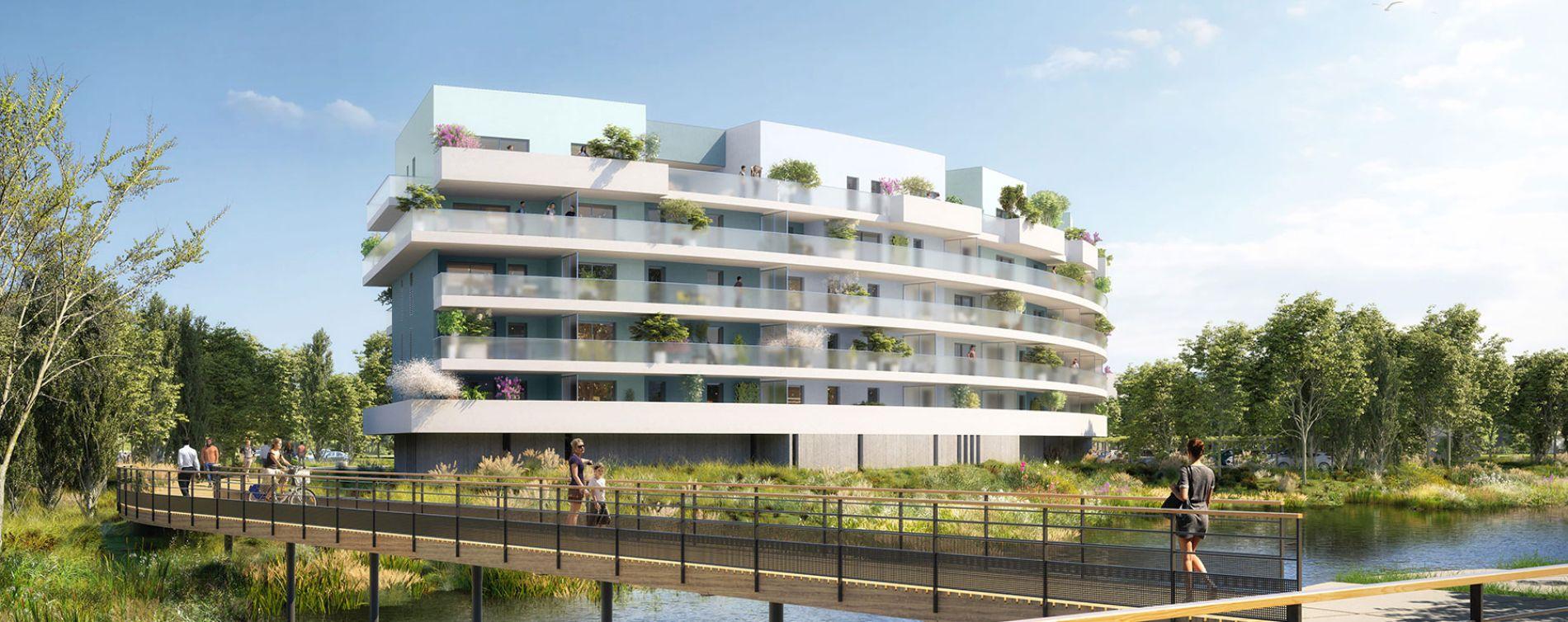 Canet-en-Roussillon : programme immobilier neuve « Bleu Eden » en Loi Pinel