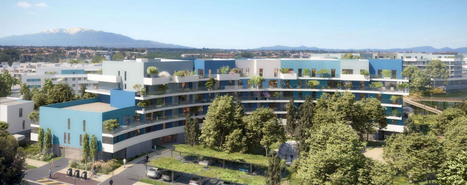 Canet-en-Roussillon : programme immobilier neuve « Bleu Eden » en Loi Pinel (3)