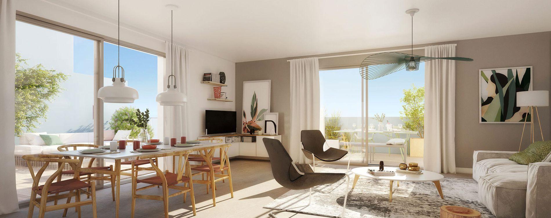 Canet-en-Roussillon : programme immobilier neuve « Bleu Eden » en Loi Pinel (4)