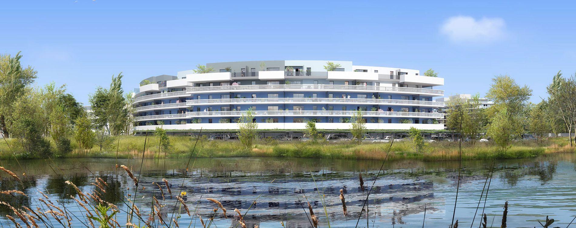 Canet-en-Roussillon : programme immobilier neuve « Bleu Odyssée Bât A » en Loi Pinel