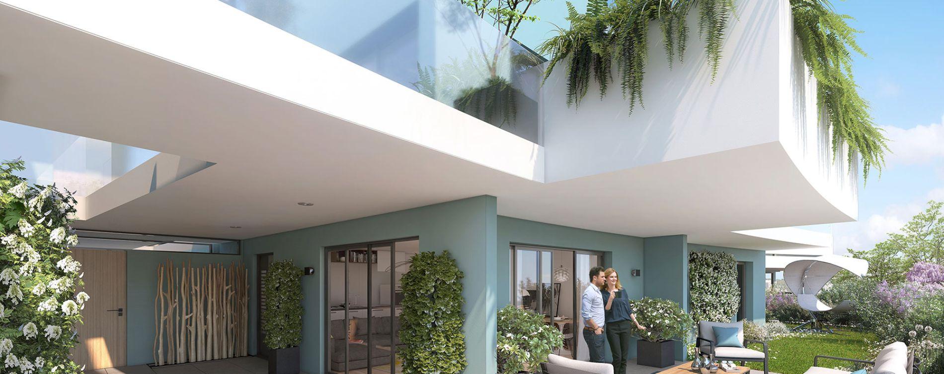Canet-en-Roussillon : programme immobilier neuve « Bleu Odyssée Bât A » en Loi Pinel (2)