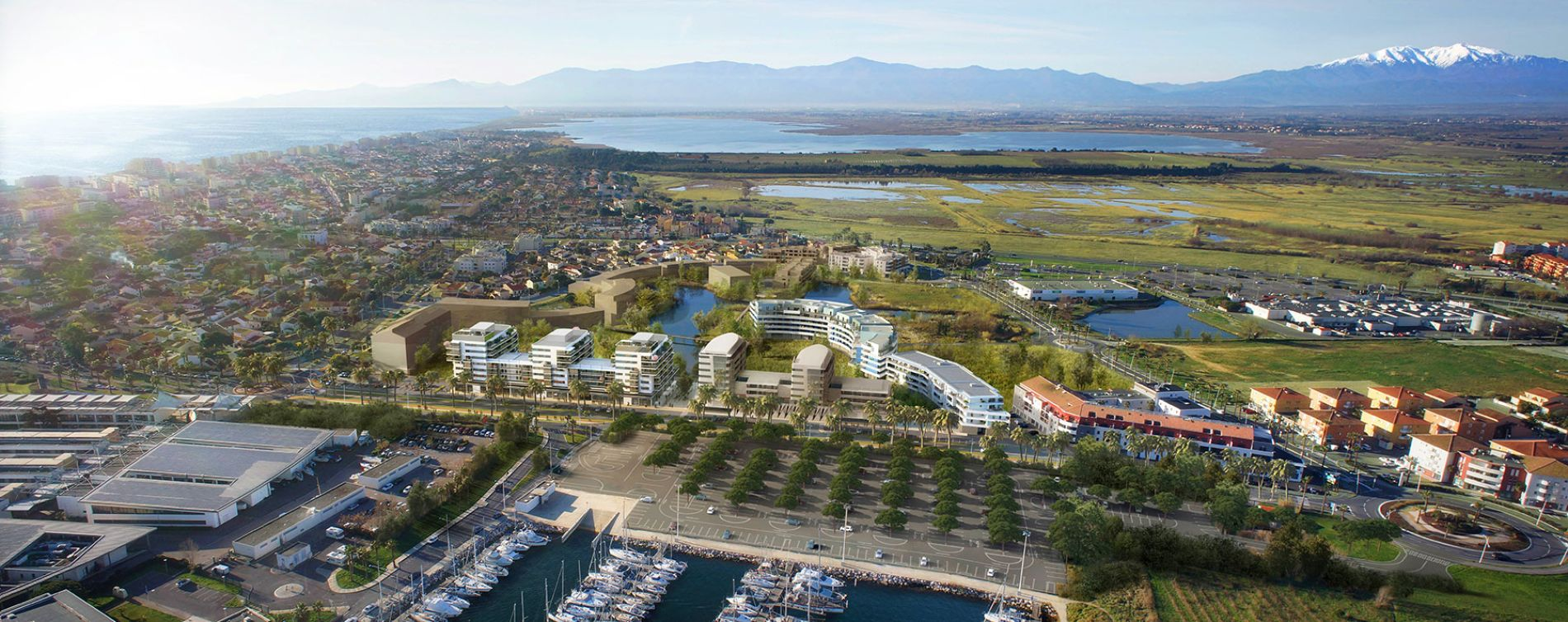 Canet-en-Roussillon : programme immobilier neuve « Bleu Odyssée Bât A » en Loi Pinel (5)