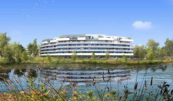 Photo du Résidence « Bleu Odyssée Bât A » programme immobilier neuf en Loi Pinel à Canet-en-Roussillon