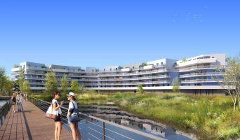 Photo du Résidence « Bleu Odyssée Bât B » programme immobilier neuf en Loi Pinel à Canet-en-Roussillon
