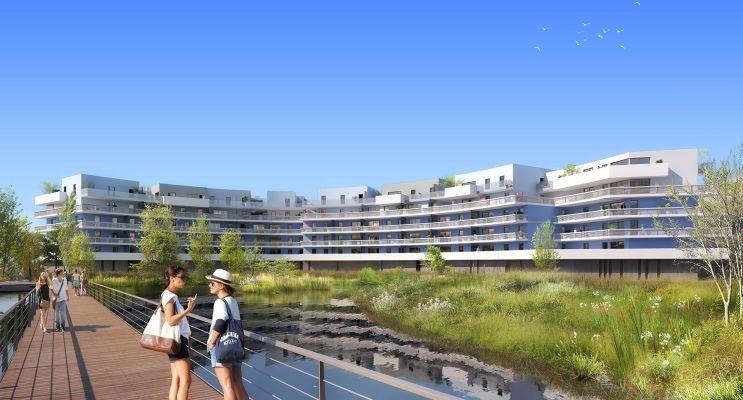 Canet-en-Roussillon programme immobilier neuf « Bleu Odyssée Bât B » en Loi Pinel