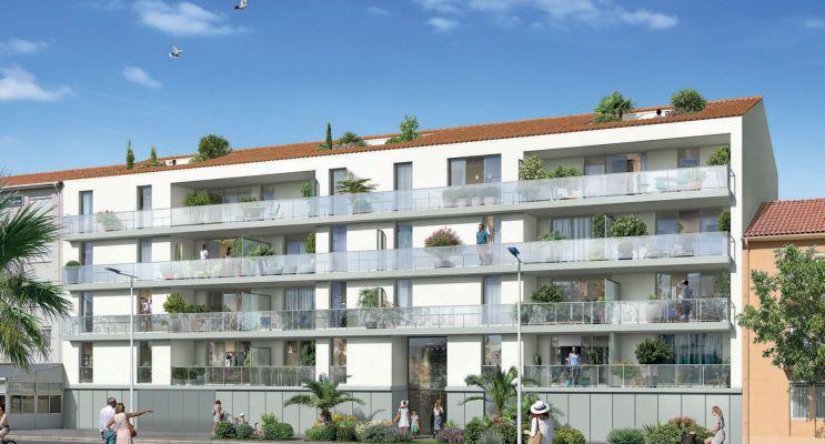 Canet-en-Roussillon programme immobilier neuf « Kanedo » en Loi Pinel