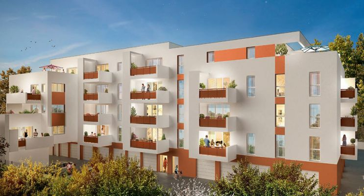 Résidence « Cubik » programme immobilier neuf en Loi Pinel à Perpignan n°2