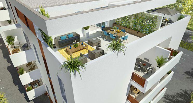 Résidence « Cubik » programme immobilier neuf en Loi Pinel à Perpignan n°3