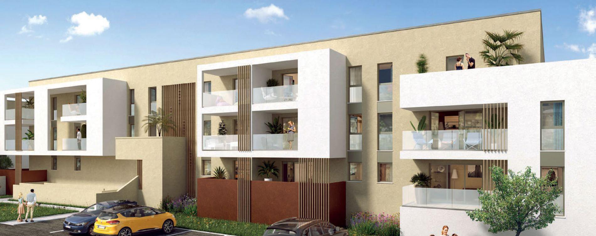 Perpignan : programme immobilier neuve « Domaine du Sud » en Loi Pinel (2)