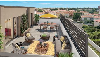 Résidence « L'Apostrophe » programme immobilier neuf en Loi Pinel à Perpignan n°2