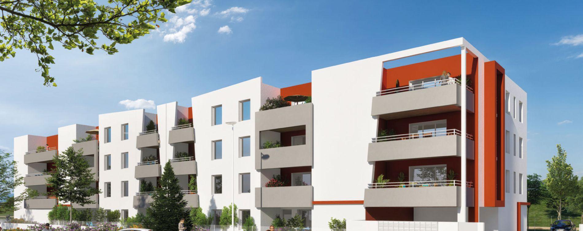 Perpignan : programme immobilier neuve « Le Grenat » en Loi Pinel