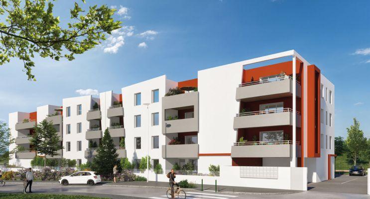 Perpignan : programme immobilier neuf « Le Grenat » en Loi Pinel