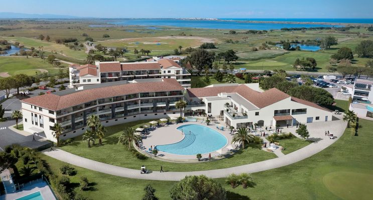 Résidence « Horizon Golf » programme immobilier neuf en Loi Pinel à Saint-Cyprien n°2