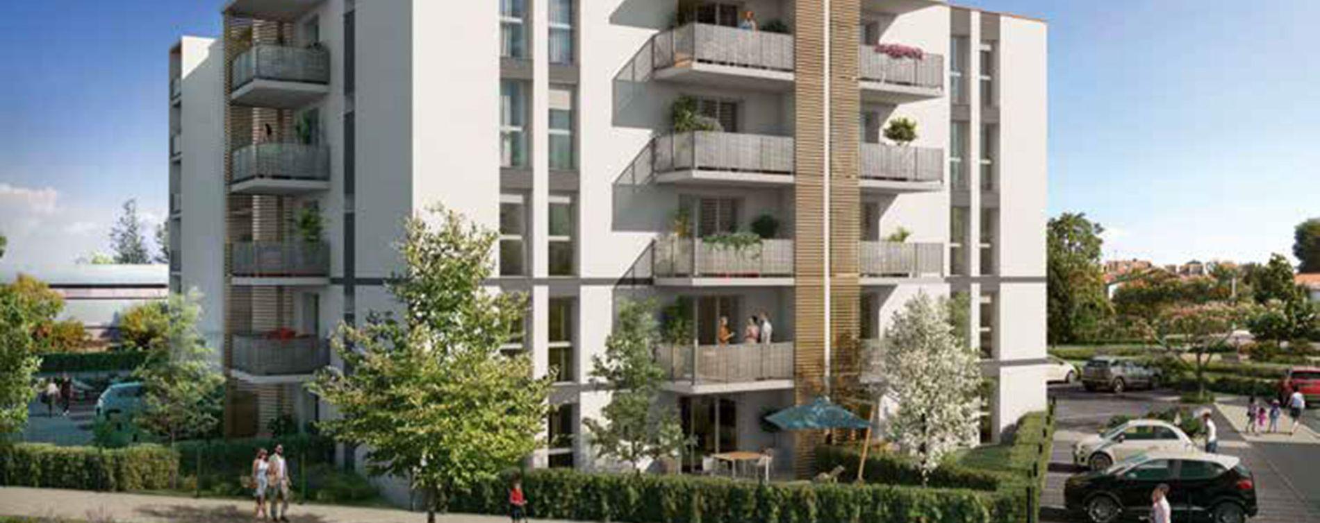 Montauban : programme immobilier neuve « Esprit Nouveau »