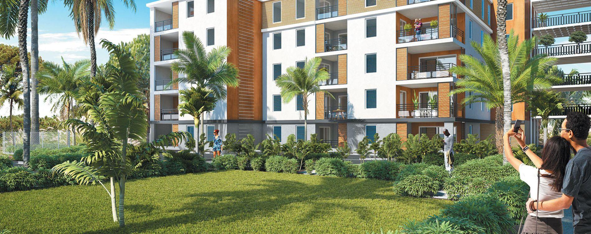 Abymes : programme immobilier neuve « Les Trois Arts - Bât. A » en Loi Pinel