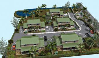 Photo n°2 du Résidence « Fleurs De Canne » programme immobilier neuf en Loi Pinel à Saint-François
