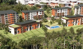 Remire-Montjoly : programme immobilier neuf « Ebène Rose 2022 » en Loi Pinel