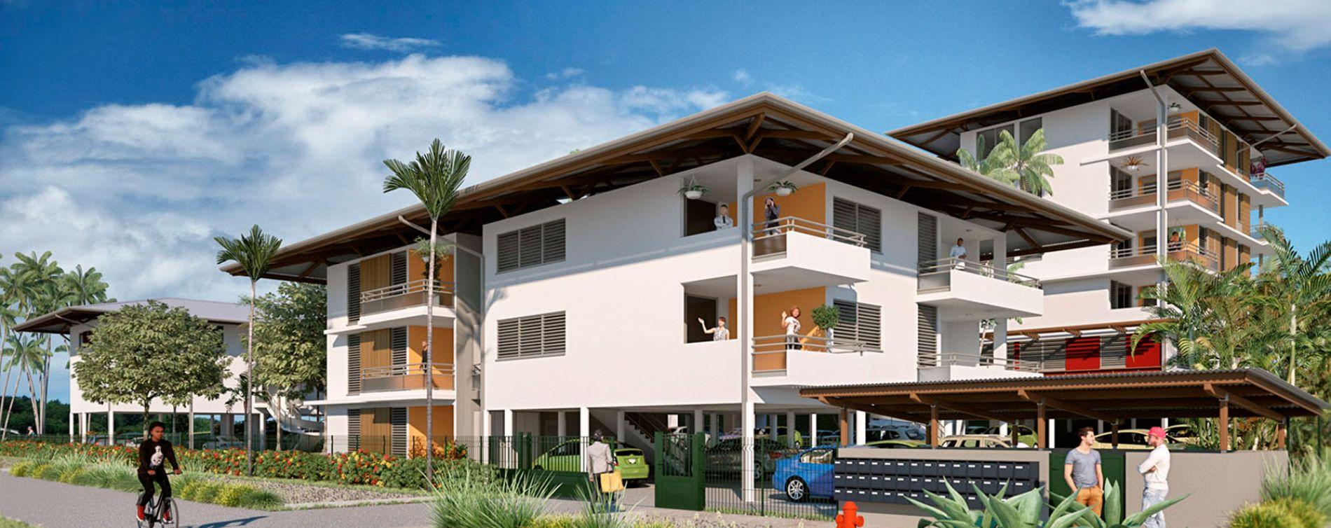 Remire-Montjoly : programme immobilier neuve « La Caravelle »