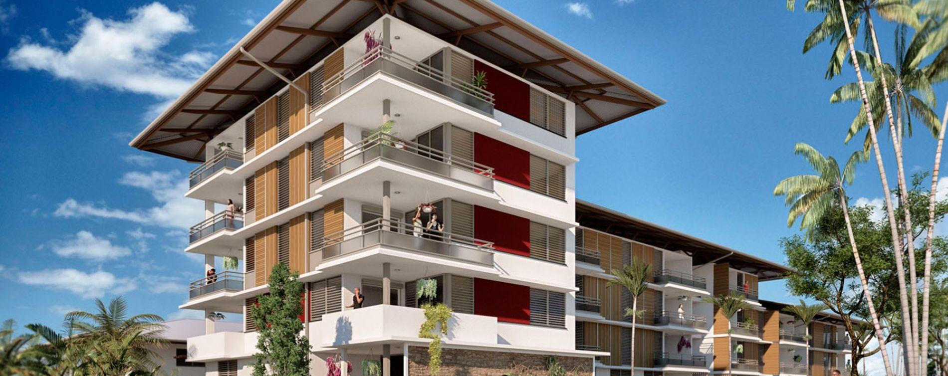 Remire-Montjoly : programme immobilier neuve « La Caravelle » (3)