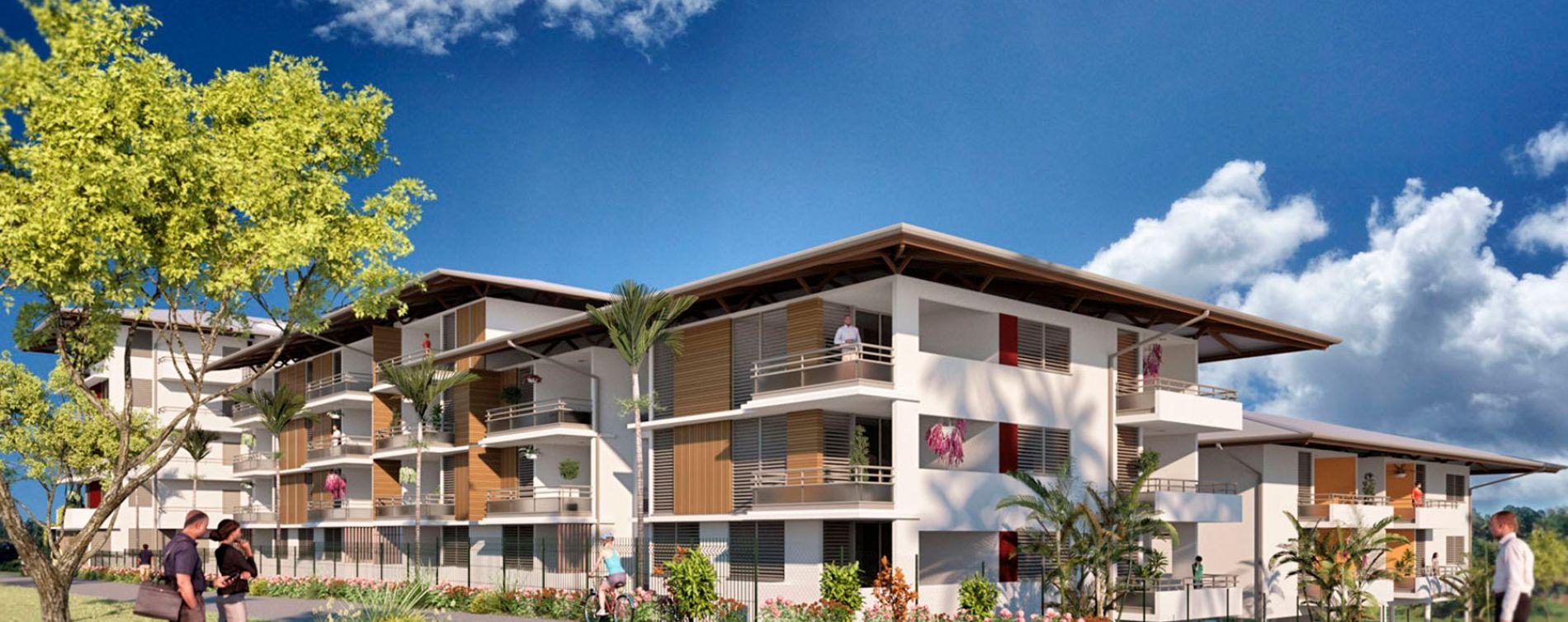 Remire-Montjoly : programme immobilier neuve « La Caravelle » (4)
