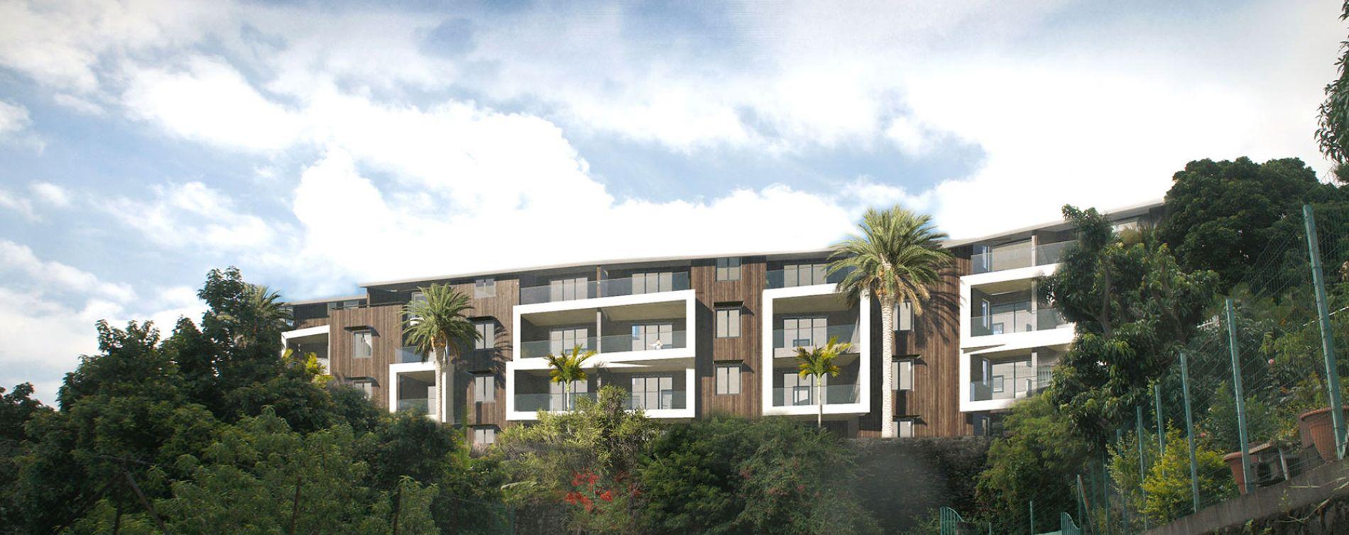 castel roc saint denis programme immobilier neuf n 213512. Black Bedroom Furniture Sets. Home Design Ideas