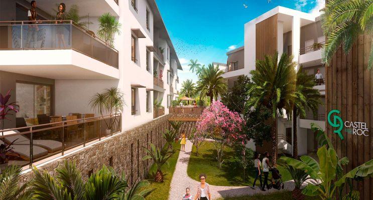 Photo n°1 du Résidence « Castel Roc » programme immobilier neuf en Loi Pinel à Saint-Denis