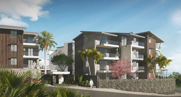 Photo n°2 du Résidence « Castel Roc » programme immobilier neuf en Loi Pinel à Saint-Denis