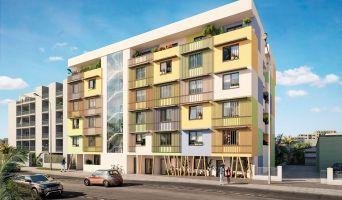 Saint-Denis : programme immobilier neuf « Central Fac 11 » en Loi Pinel