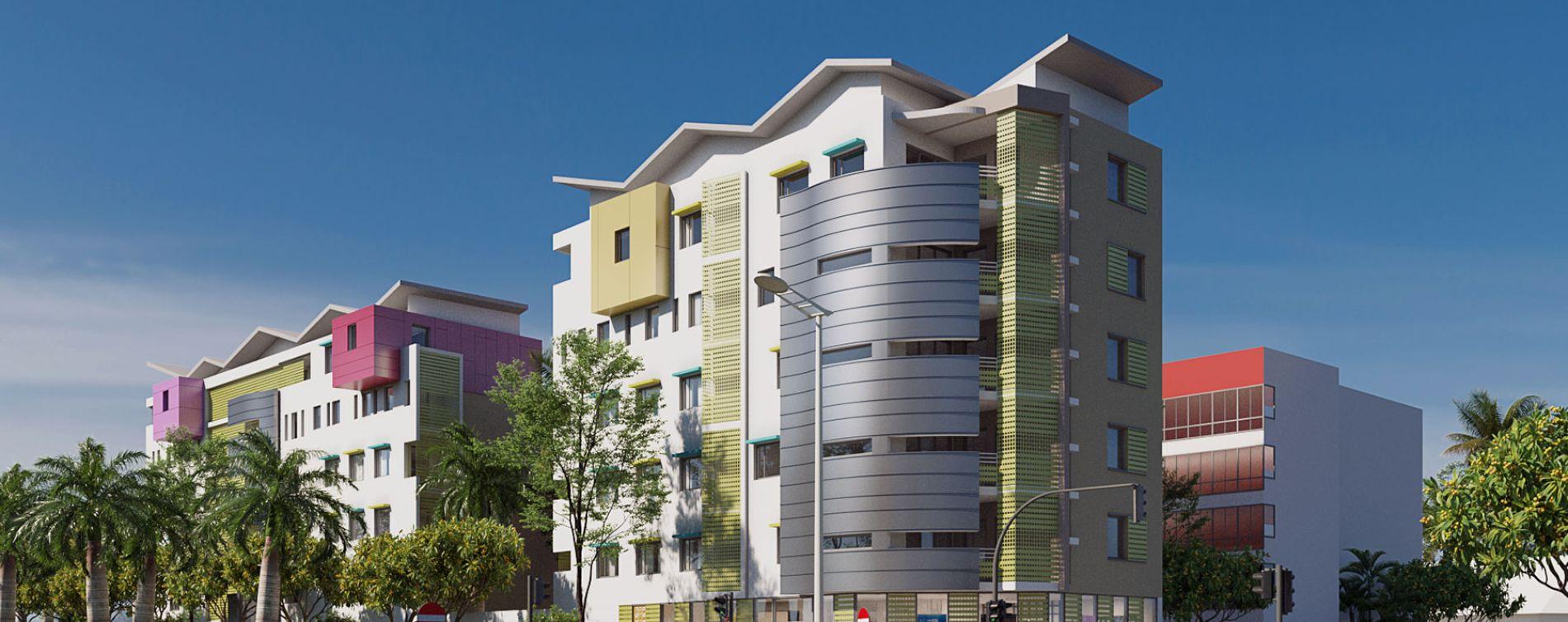 Saint-Denis : programme immobilier neuve « Le Jardin des Lys » en Loi Pinel