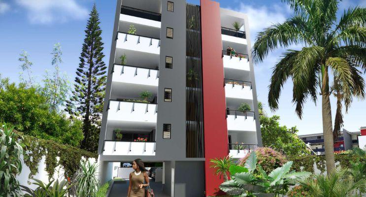 Saint-Denis : programme immobilier neuf « Marc Antoine » en Loi Pinel