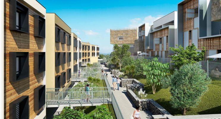 Résidence « L'Octant 2 » programme immobilier neuf en Loi Pinel à Saint-Leu