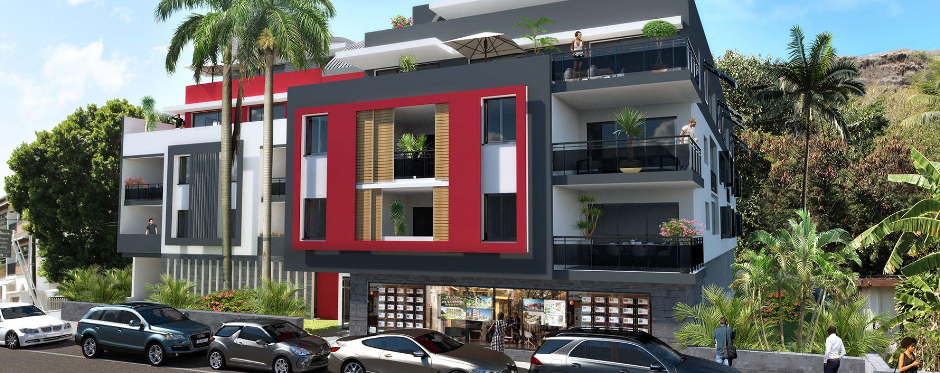 Saint-Paul : programme immobilier neuve « Le Mandarin » en Loi Pinel