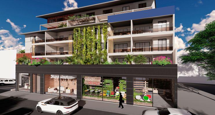 Résidence « Calandra » programme immobilier neuf en Loi Pinel à Saint-Pierre n°1