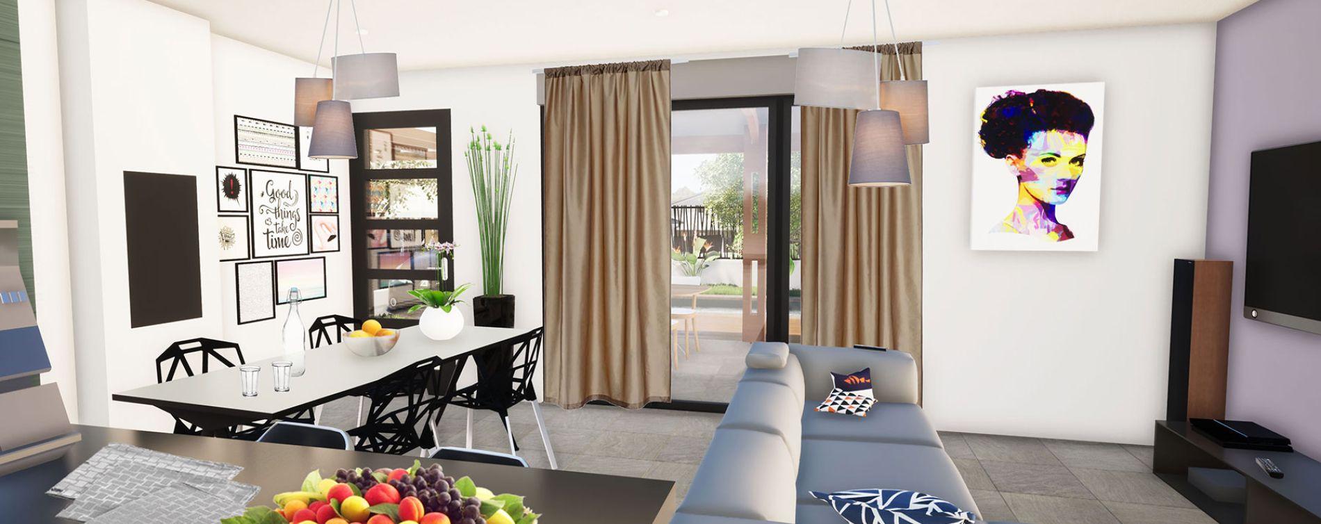 Saint-Pierre : programme immobilier neuve « Clos de la Vallée » en Loi Pinel (3)
