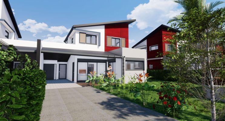 Photo du Résidence « Les Villas Rubis » programme immobilier neuf en Loi Pinel à Saint-Pierre