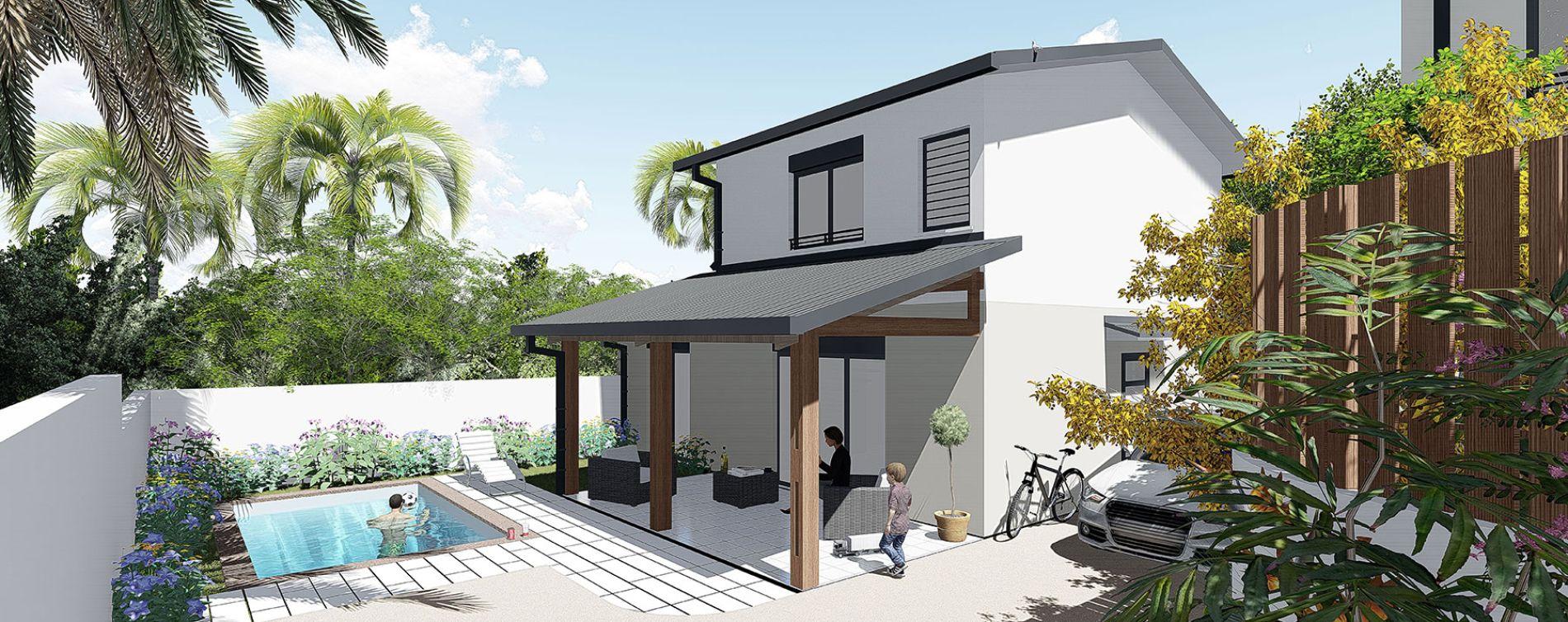 Saint-Pierre : programme immobilier neuve « Longani » en Loi Pinel