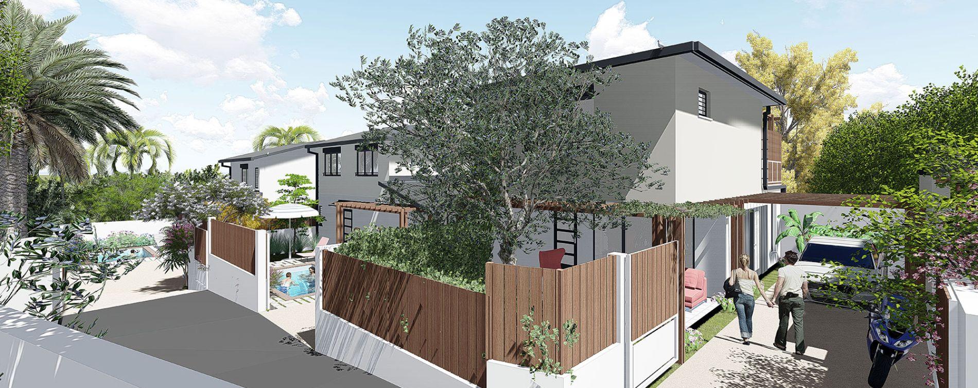 Saint-Pierre : programme immobilier neuve « Longani » en Loi Pinel (3)